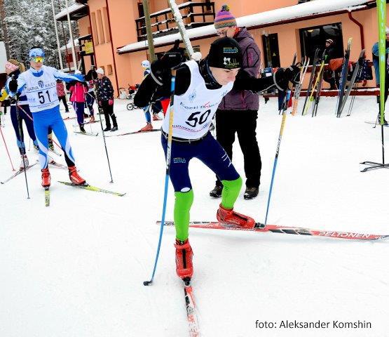 4 лыжных события за 1 день