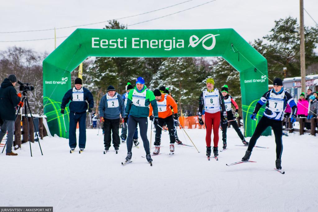 Narva Suusasõit 2016 - старт деятелей города