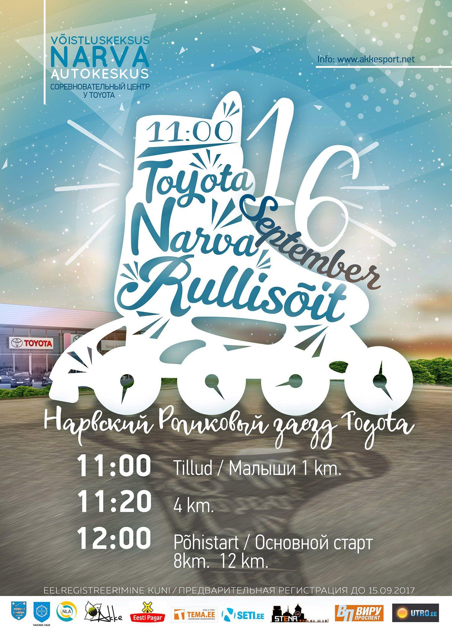 16IX2017 Toyota Narva rullisõit