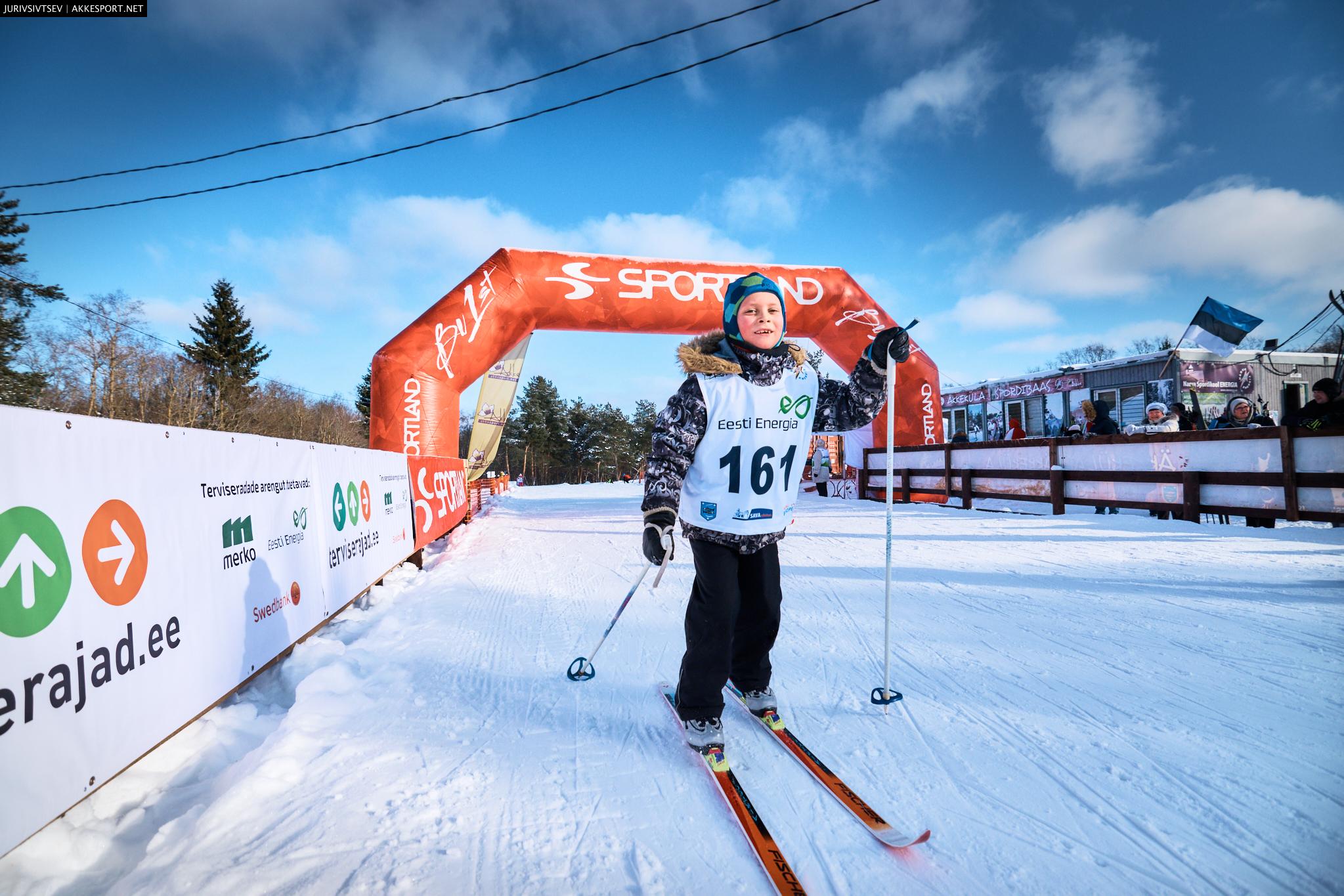 Нарвский лыжный заезд 2018