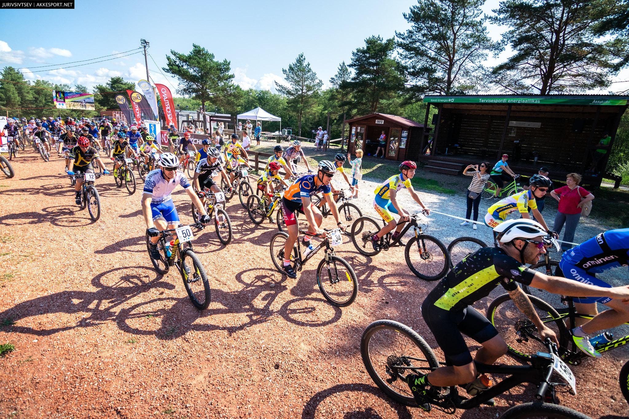Среди участников Нарвского велосипедного заезда будет разыгран велосипед
